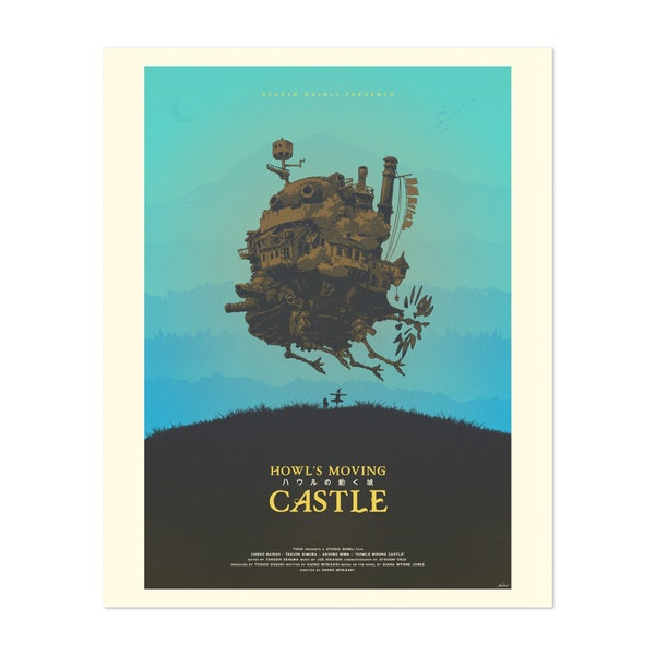 Howl's Moving Castle by Edward J. Moran II