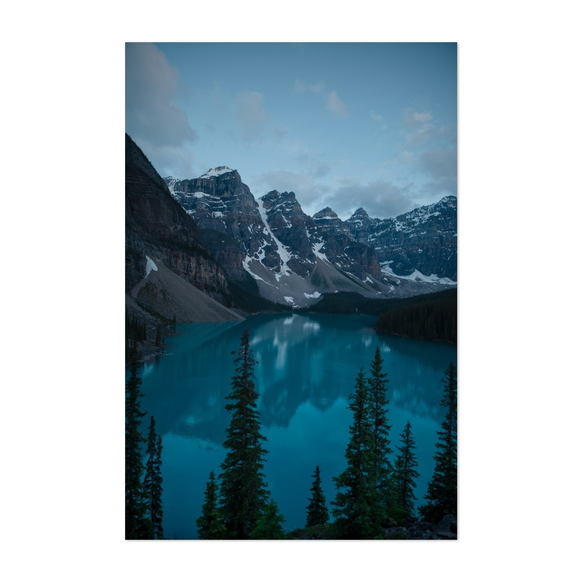 Moraine Lake after Sunset