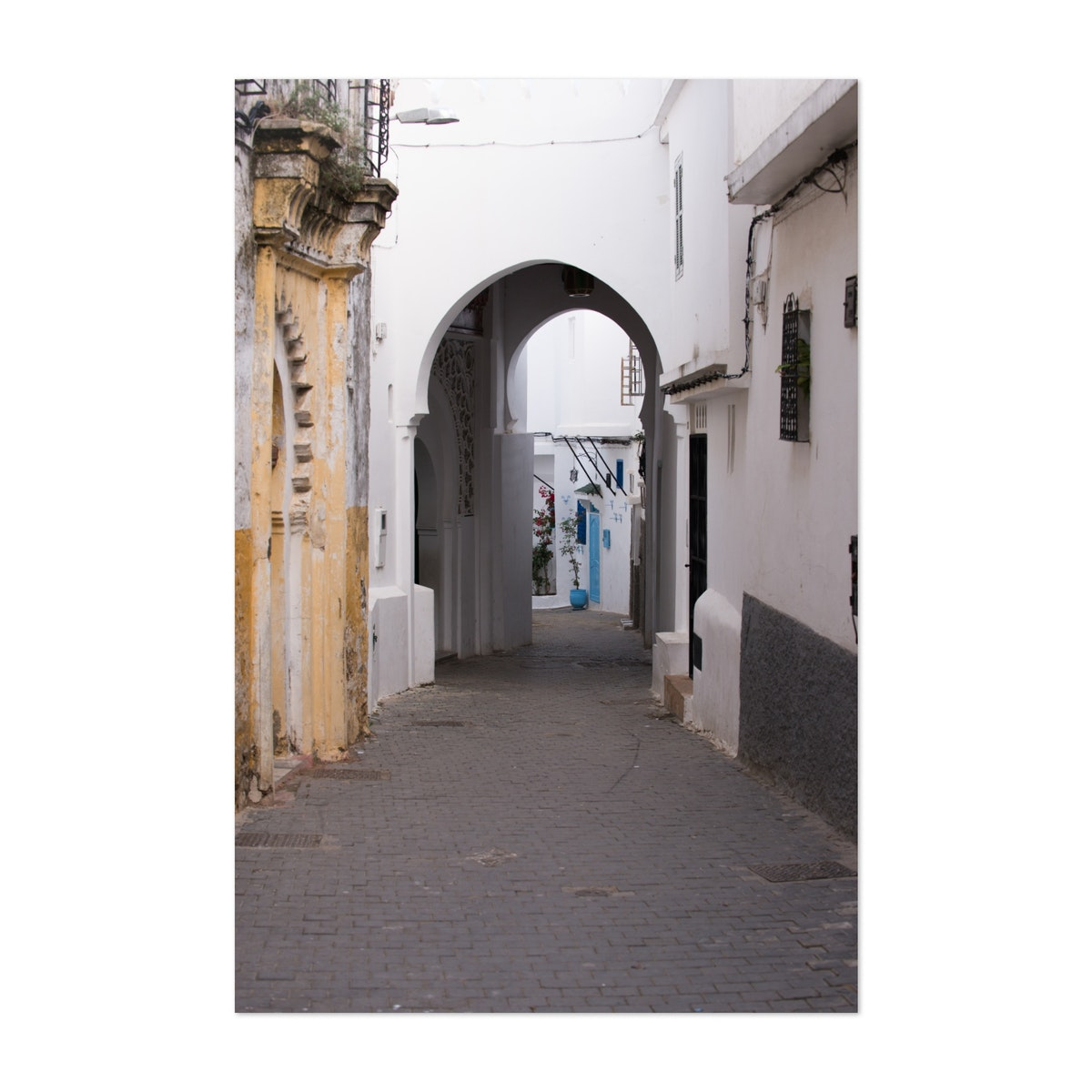 Narrow Streets of Old Town Tangier