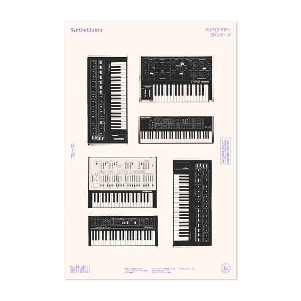 Synthesizers by Florent Bodart