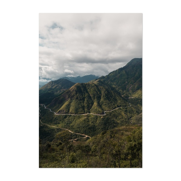 Tropical Sapa Vietnam Road by Kyle Miller