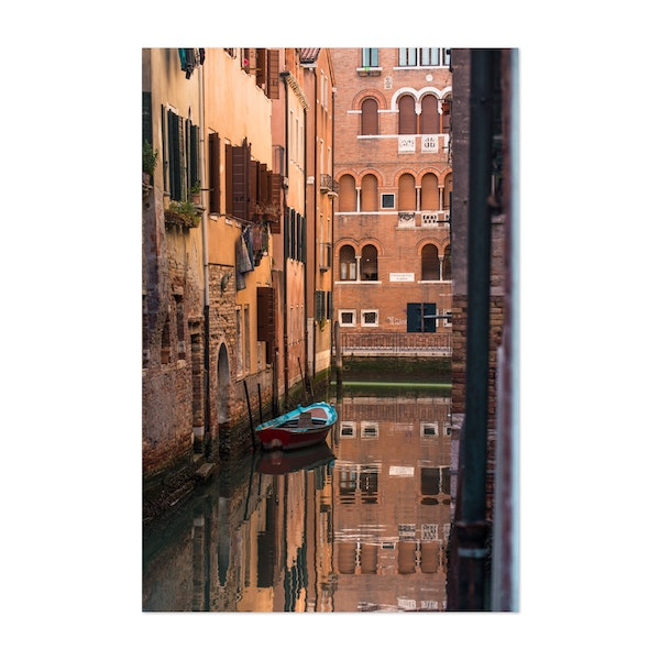 Venice Parking Reflections by Kyle Miller
