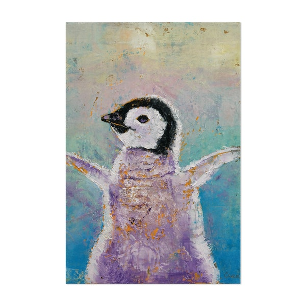 Baby Penguin by Michael Creese