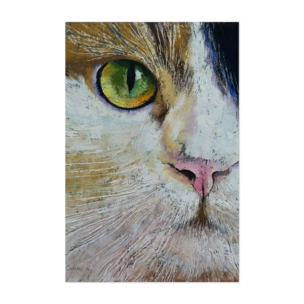 Calico Cat by Michael Creese