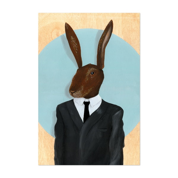 David Lynch Rabbit by Famous When Dead