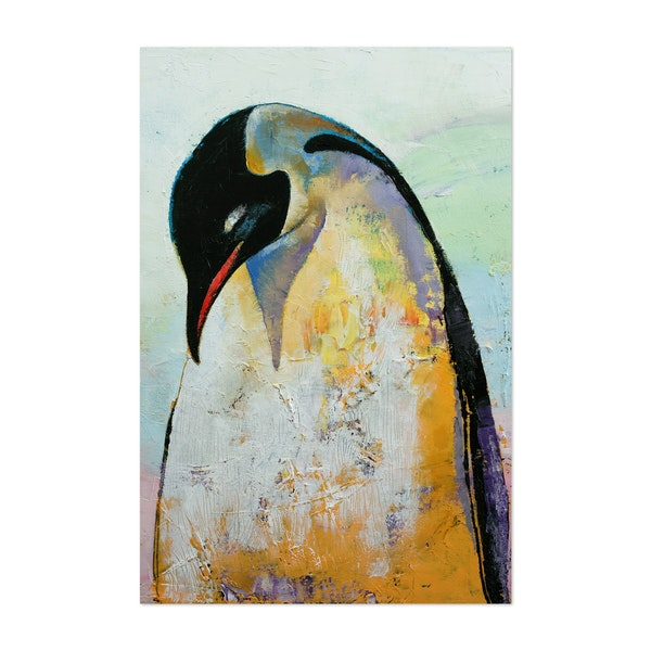 Emperor Penguin by Michael Creese