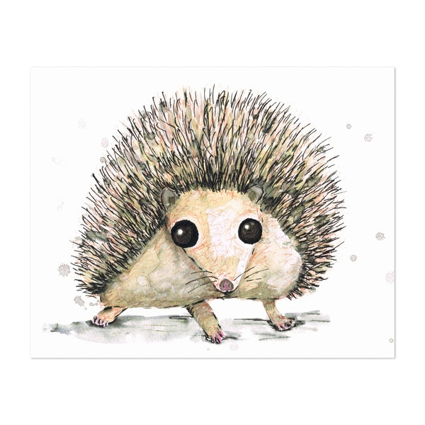 Hedgehog by Bwiselizzy