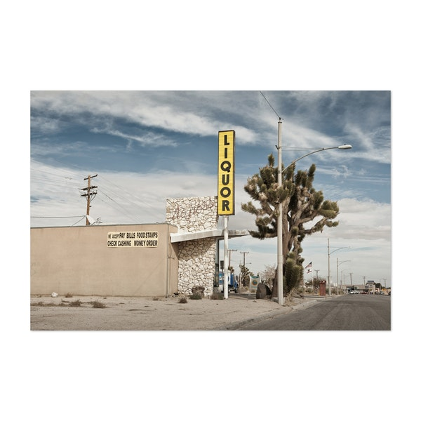 Liquor Store Yucca Valley by Marc Gruninger