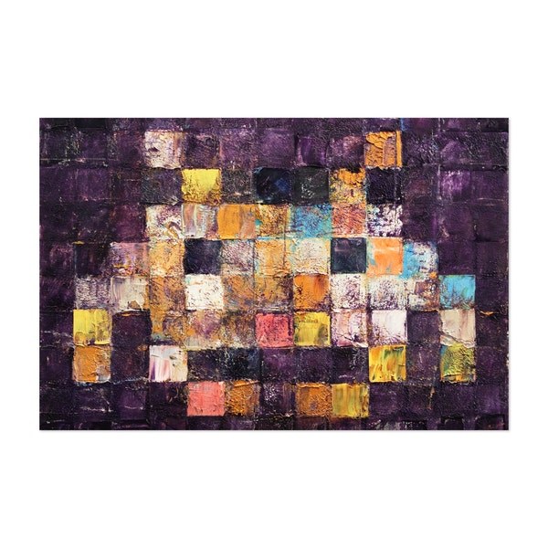 Purple Haze Invader by Michael Creese