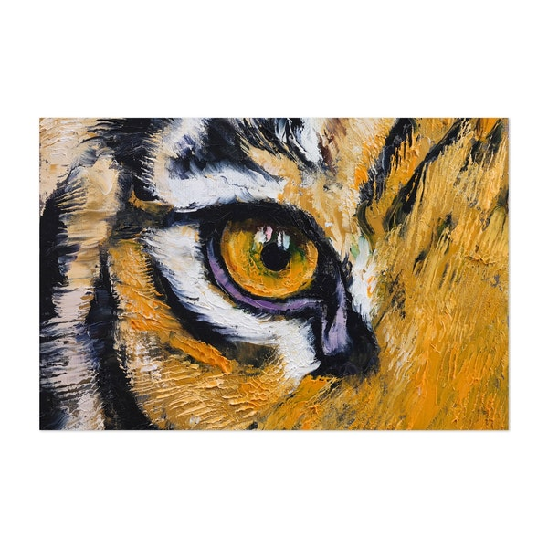 Tiger Eye by Michael Creese