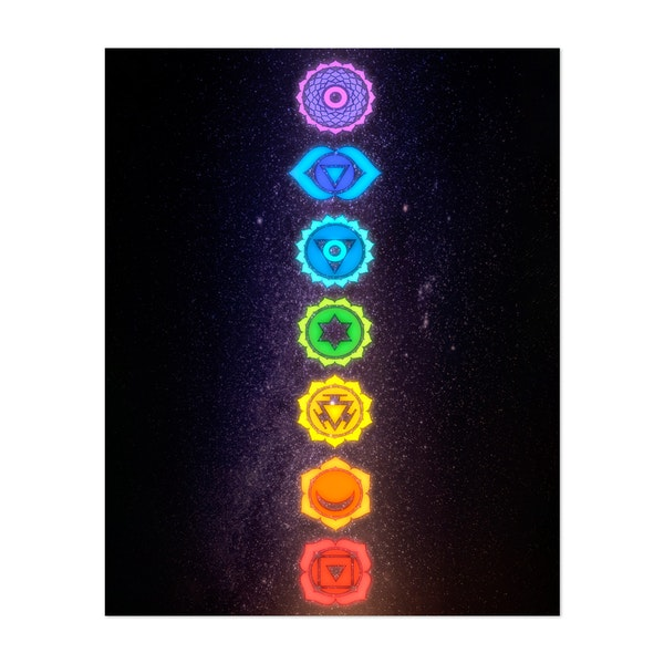 Cosmic chakras by MCAshe