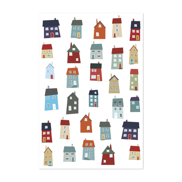 Houses by Nic Squirrell