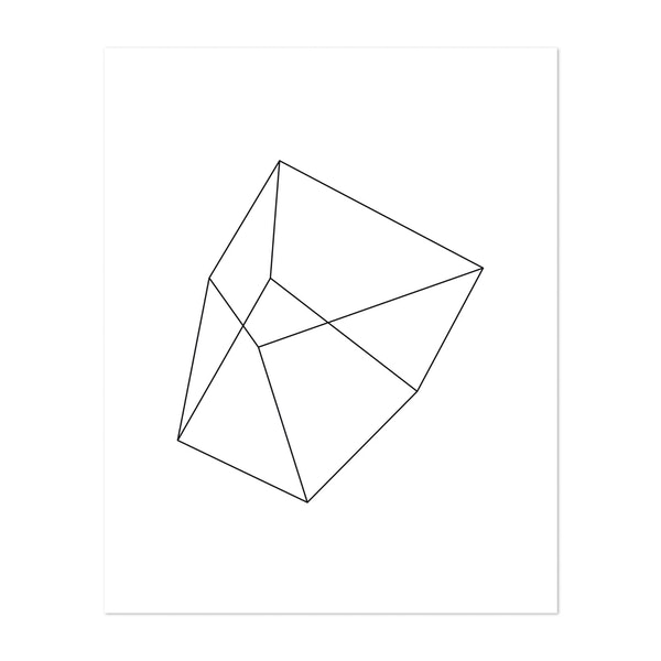 Linear polygons III by Nouveau Prints