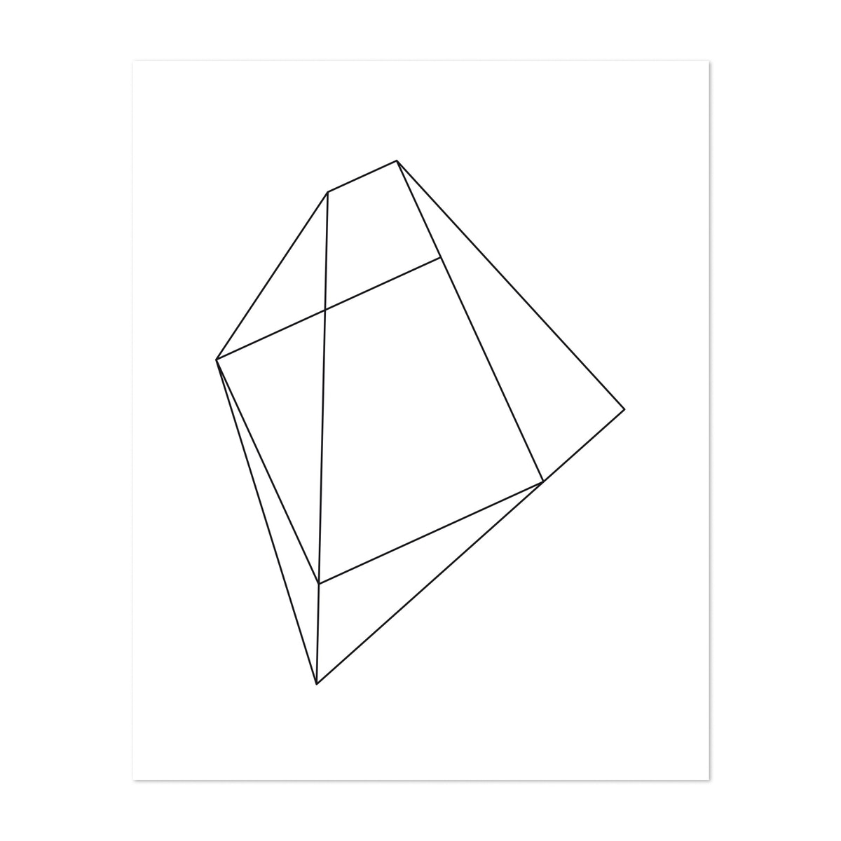 Linear polygons VI