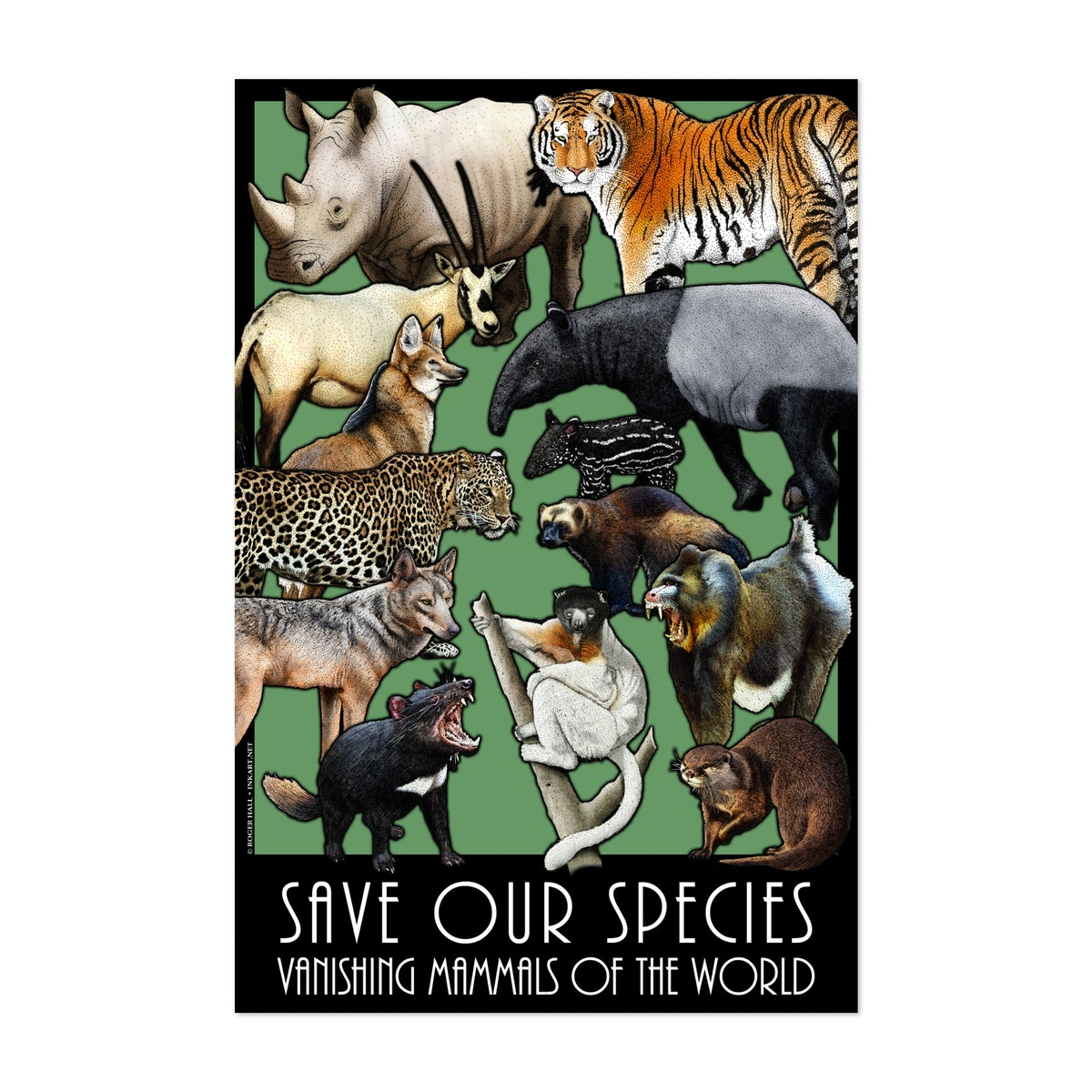 Save Our Species - Vanishing Mammals