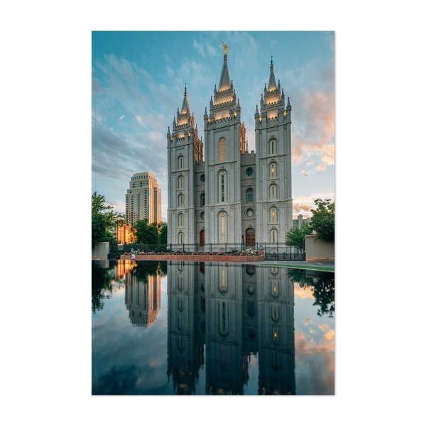 The LDS Temple, SLC by Jon Bilous