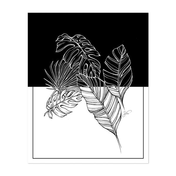 Tropical Leaves by Yin Creative Studio