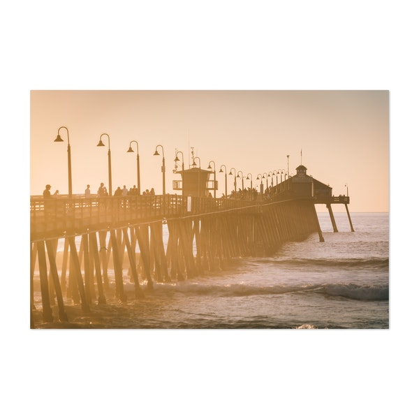 The Fishing Pier, Imperial Beach by Jon Bilous