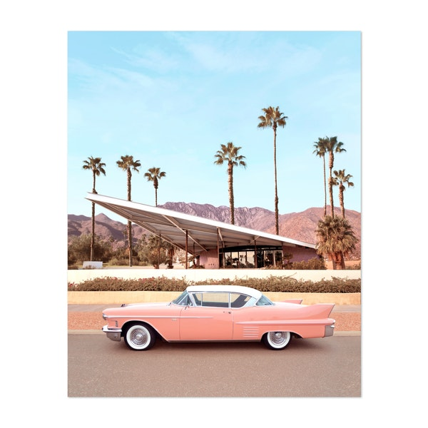 Palm Springs Car by Paul Fuentes