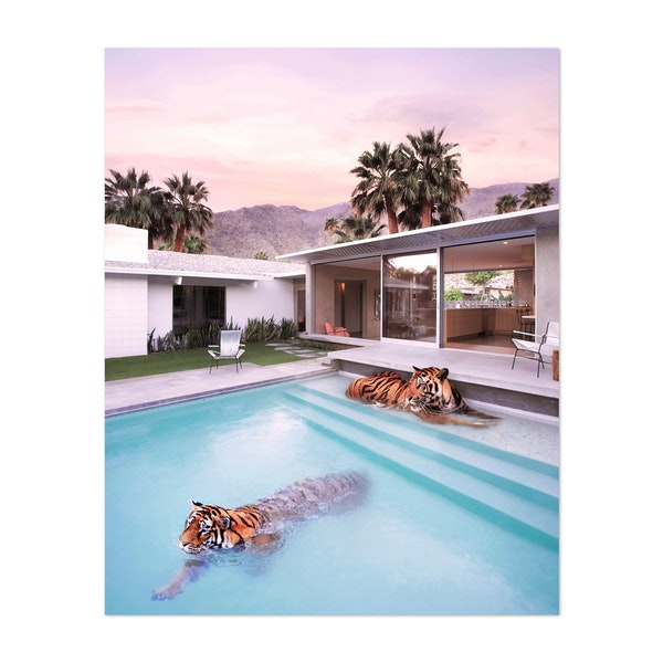 Palm Springs Tigers by Paul Fuentes