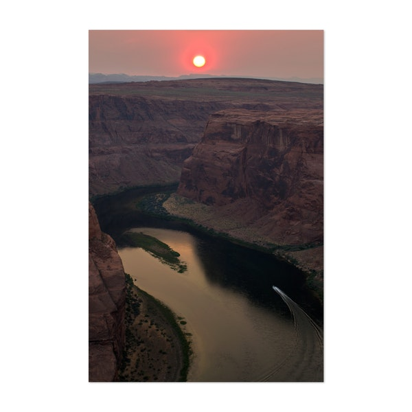 Sunset at Horseshoe Bend by Paul Hurd