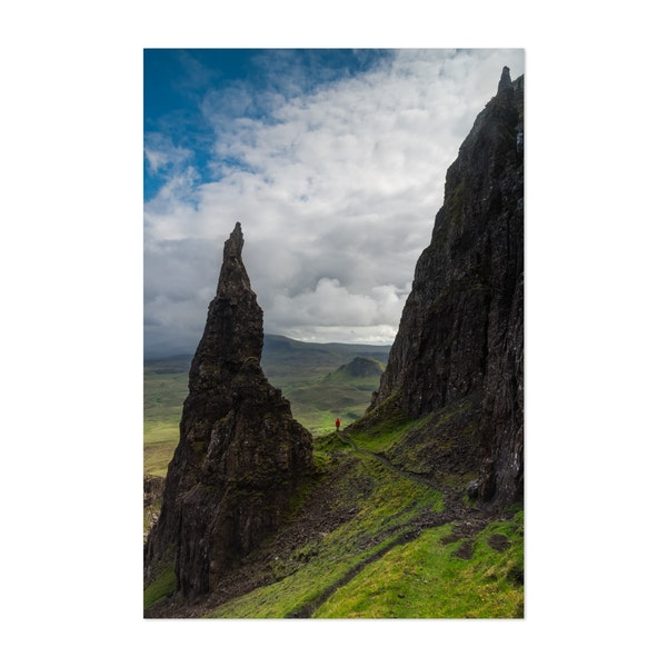 Hiking on the Isle of Skye by Mitchell Coyle
