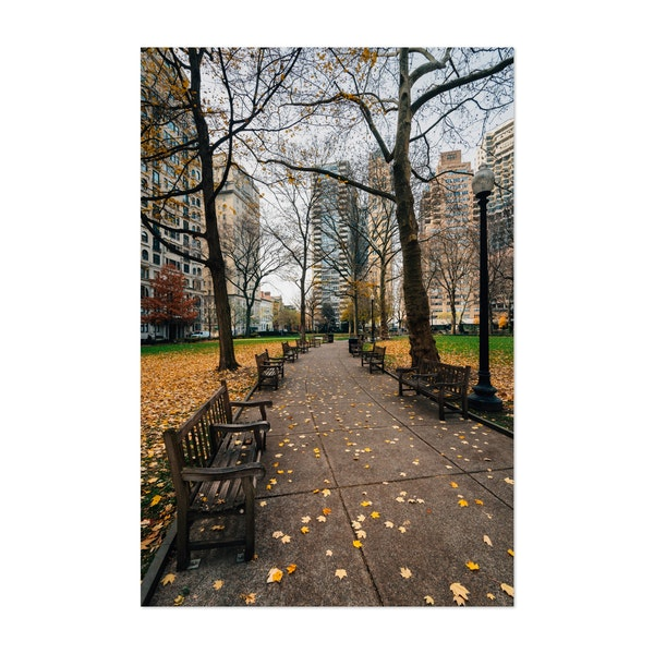 Iconic Rittenhouse Square by Jon Bilous