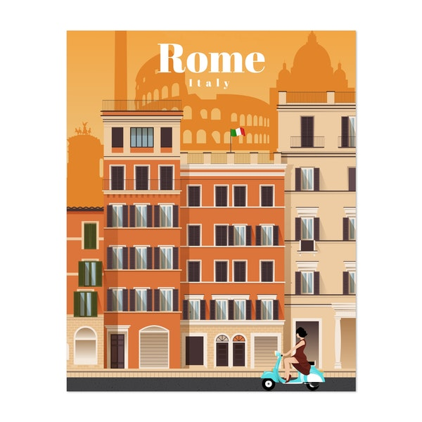 Travel to Rome by Studio 324