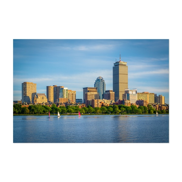The Boston Skyline by Jon Bilous