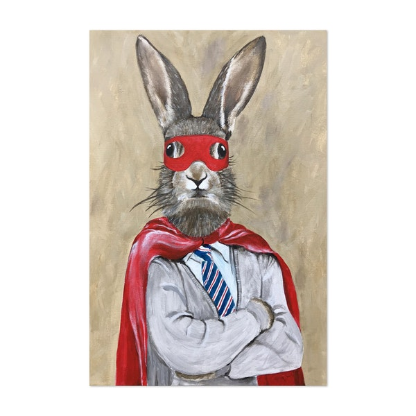 Superman Rabbit by Coco de Paris