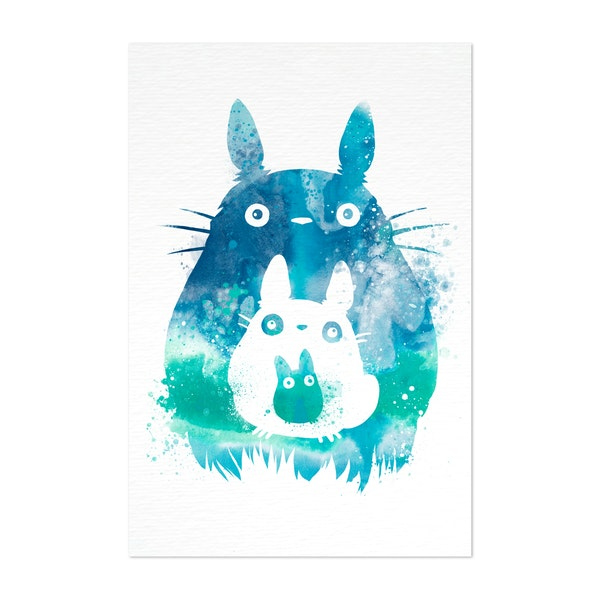 Totoro by PenelopeLovePrints
