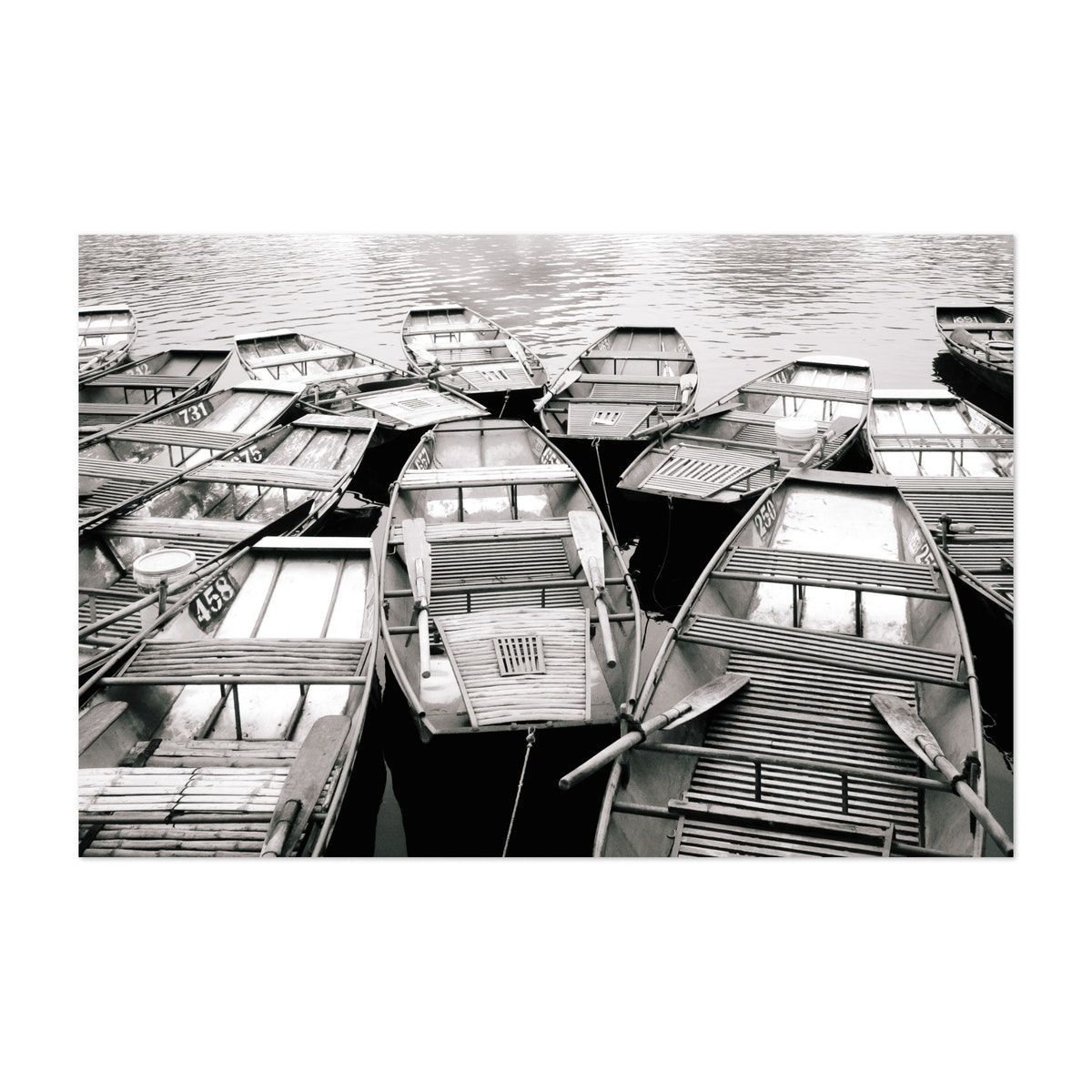 Boats on the River in Vietnam