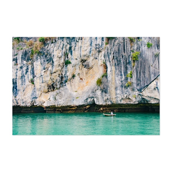 Fisherman in Halong Bay by Sidecar Photo