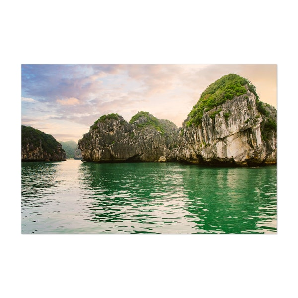 Halong Bay Scene by Sidecar Photo