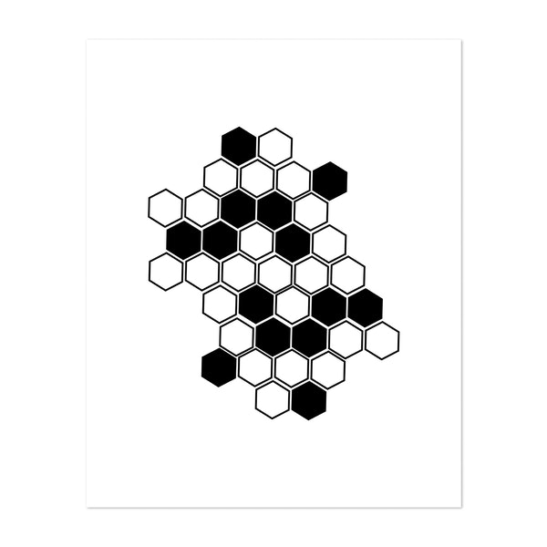 Honeycomb by Typologie Paper Co