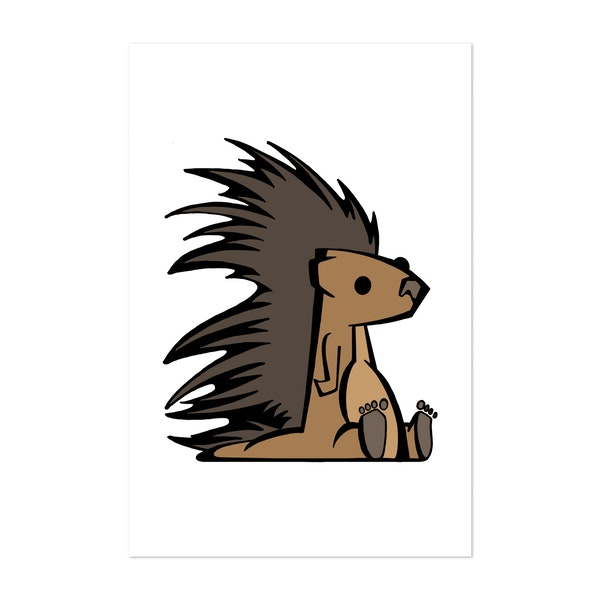 Prickly Porcupine by DopeyArt
