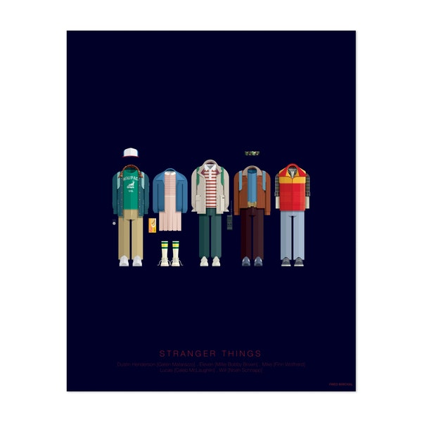 Stranger Things by Fred Birchal