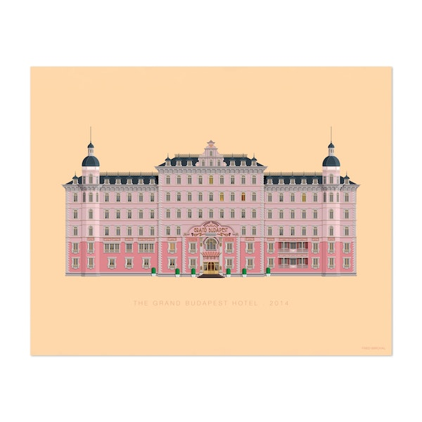 The Grand Budapest Hotel by Fred Birchal