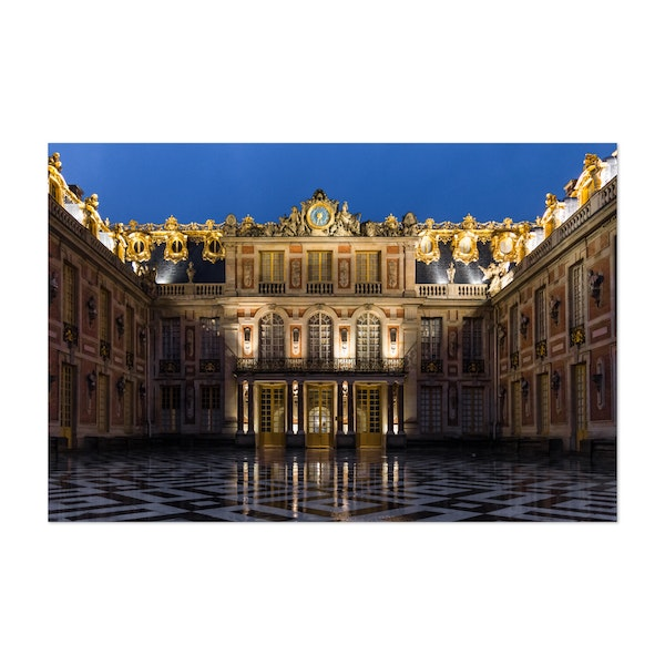The main entrance of the Palace of Versailles by Christos Karydis