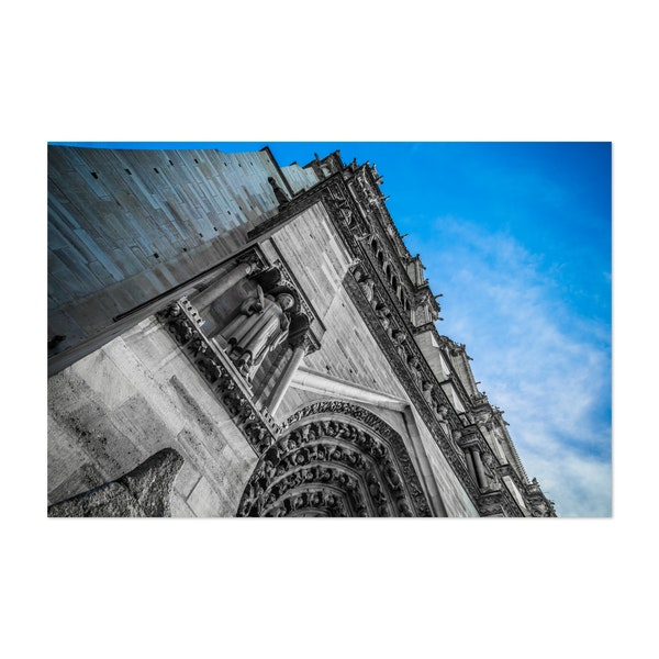 West Facade of Notre-Dame Cathedral by Christos Karydis