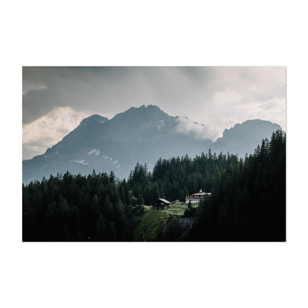 Swiss Houses by Emilien Gigandet
