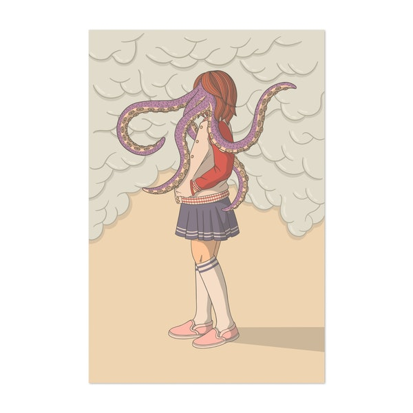 Octo Girl by Louis16art