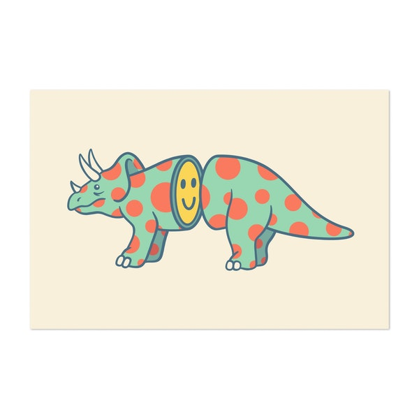 Triceratops Pop by Louis16art