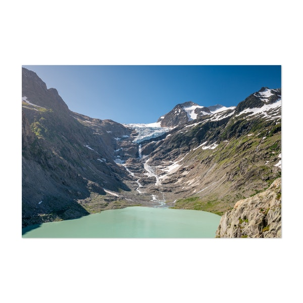 Trift Lake with Trift glacier by Marcel Gross