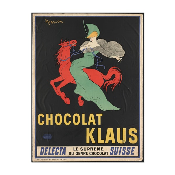 Chocolate Klaus by Anonymous