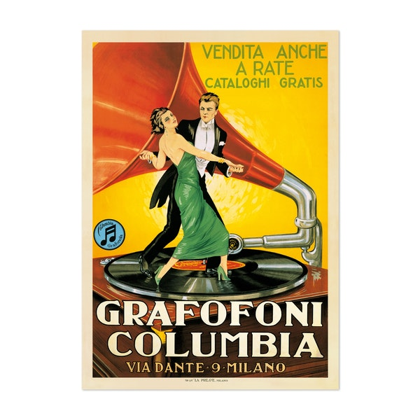 Grafofoni Columbia, 1920 ca by Anonymous
