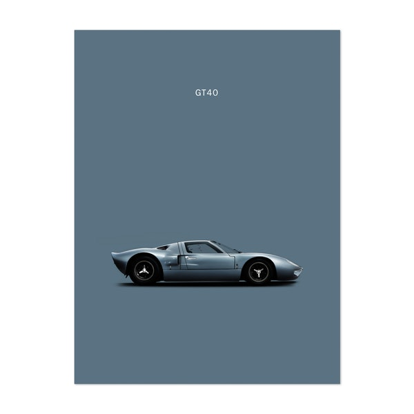Ford GT40 by Mark Rogan