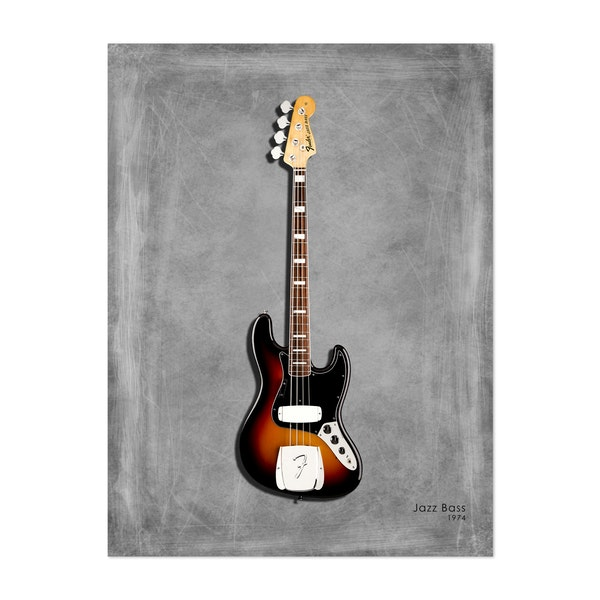 Fender Jazz Bass 74 by Mark Rogan