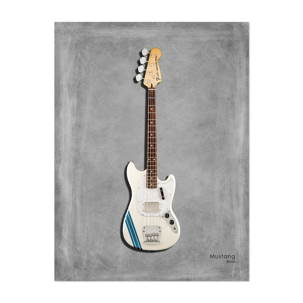 Fender Mustang Bass by Mark Rogan