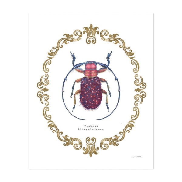 Adorning Coleoptera II by James Wiens